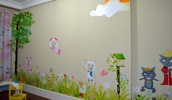 幼儿园墙体彩绘即将进入夏季火热时间段,合肥鑫磊手绘做好各方面的任务分配