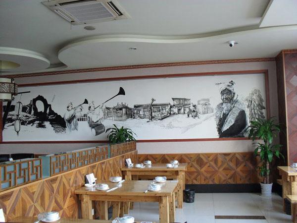 合肥墙体彩绘,酒店手绘墙画,幼儿园手绘墙,合肥文化墙,校园手绘,徽州