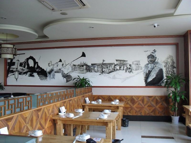 酒店手绘墙画,幼儿园手绘墙