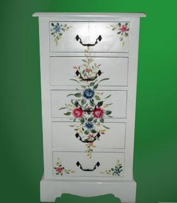 欧式家具彩绘